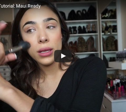 Quick Makeup Tutorial: Maui Ready